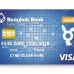 การทำบัตรเครดิตธนาคารกรุงเทพ แรบบิท ช้อป ชิม เที่ยว ในบัตรเดียว